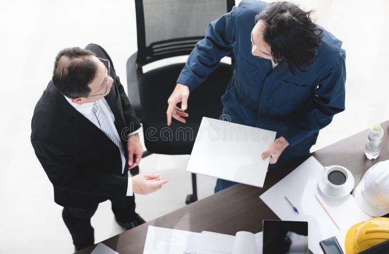 Bedrijfs Mens op Kantoor stock fotografie