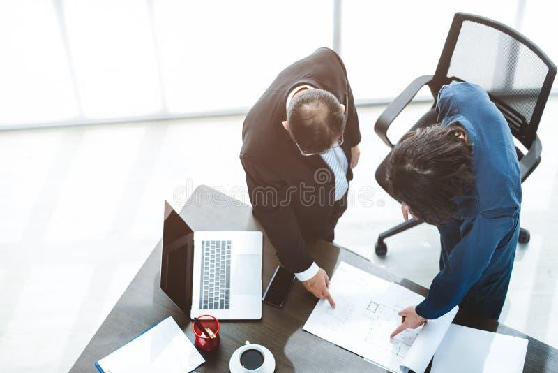 Bedrijfs Mens op Kantoor royalty-vrije stock afbeeldingen