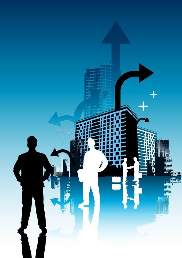 Bedrijfs mensen vector illustratie