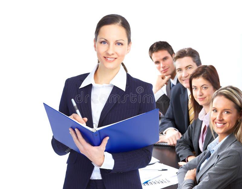 Bedrijfs mensen stock afbeelding