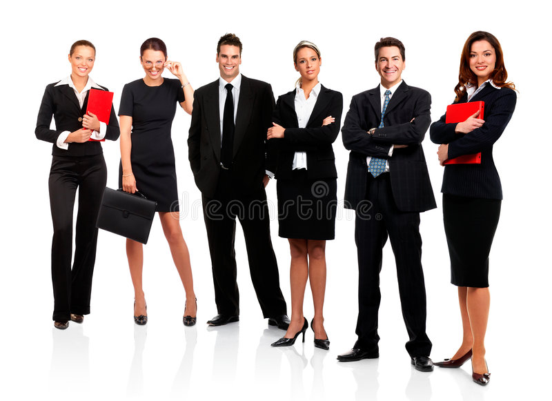 Download Bedrijfs mensen stock foto. Afbeelding bestaande uit zakenlieden - 4556538