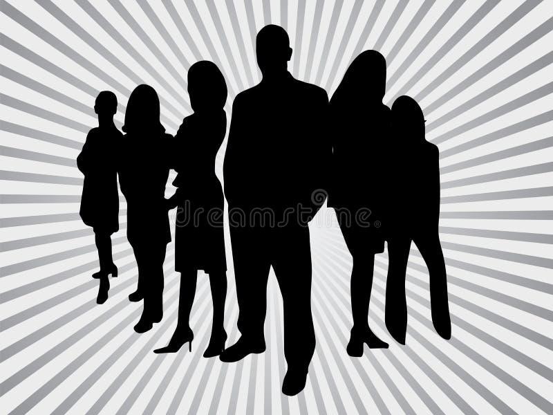 Bedrijfs mensen royalty-vrije illustratie
