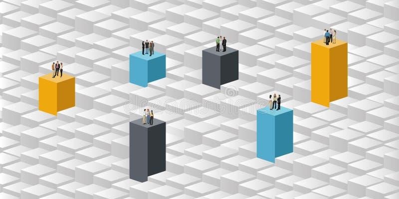 Download Bedrijfs mensen vector illustratie. Illustratie bestaande uit kleurrijk - 54085734