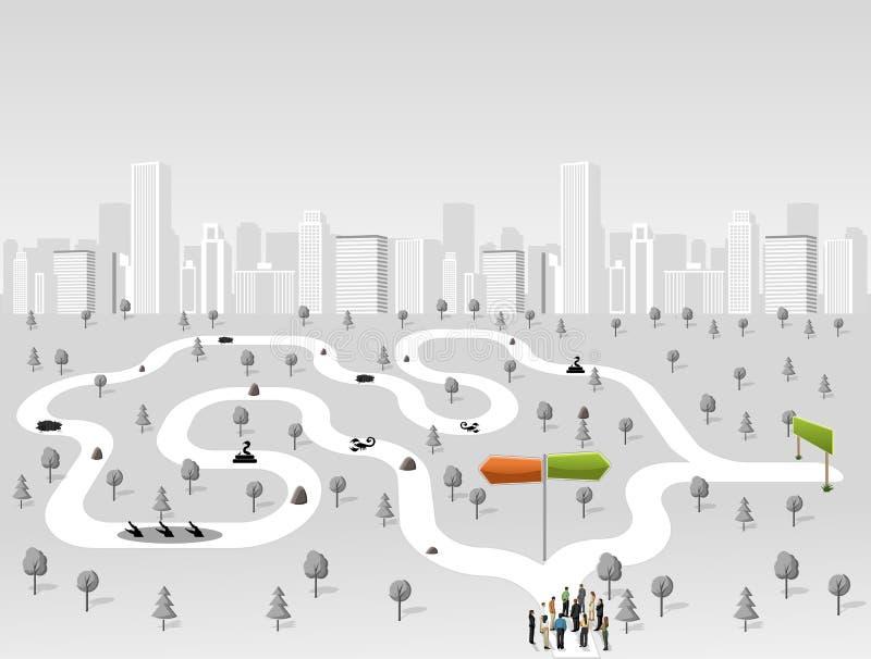 Download Bedrijfs mensen vector illustratie. Illustratie bestaande uit door - 54086070