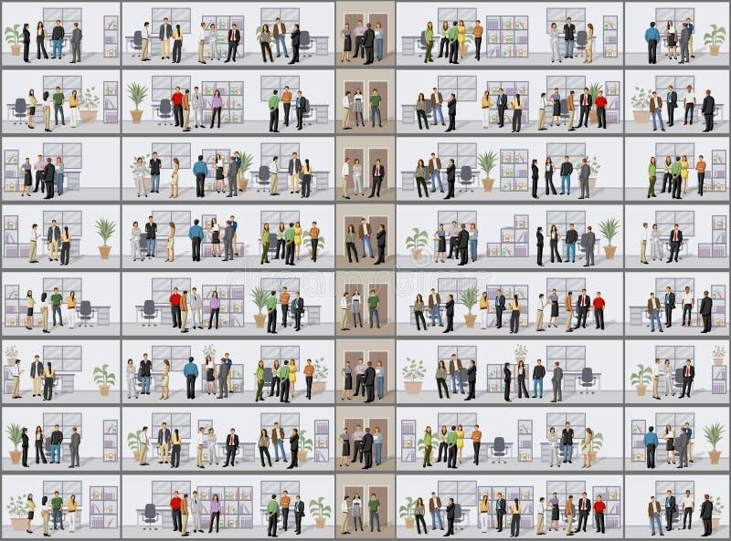Download Bedrijfs mensen vector illustratie. Illustratie bestaande uit carrière - 54086077