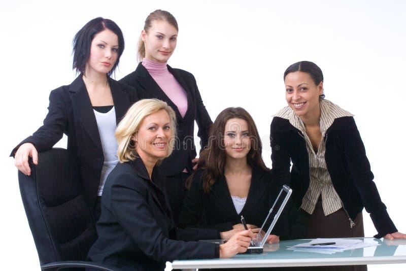 Bedrijfs mensen op het werk stock afbeelding