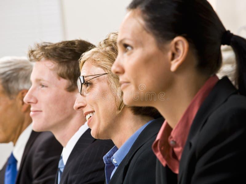 Bedrijfs mensen in vergadering royalty-vrije stock fotografie