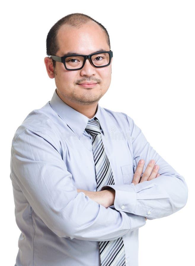 Bedrijfs mensenportret stock fotografie