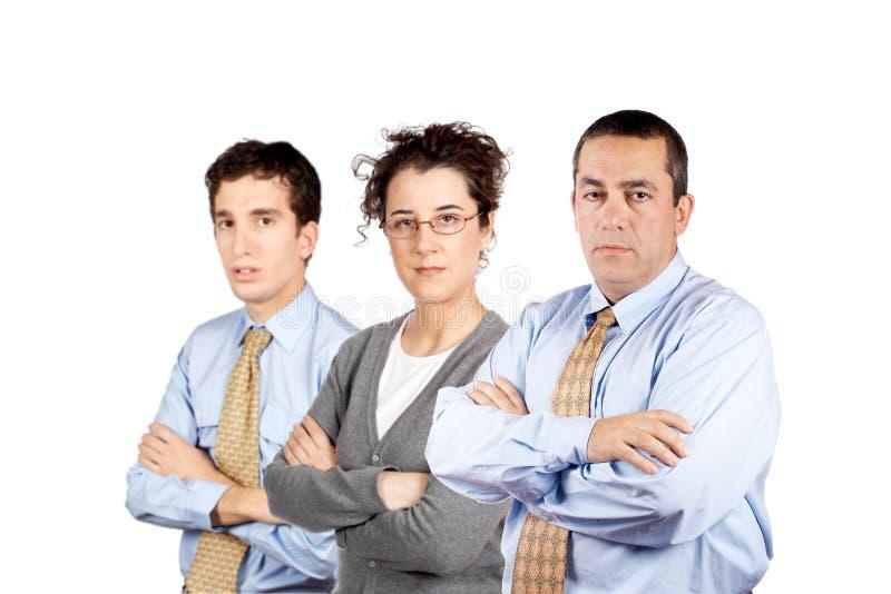 Bedrijfs mensenteam stock foto