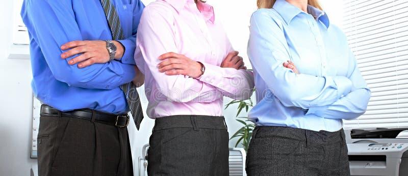 Bedrijfs mensenteam stock afbeeldingen