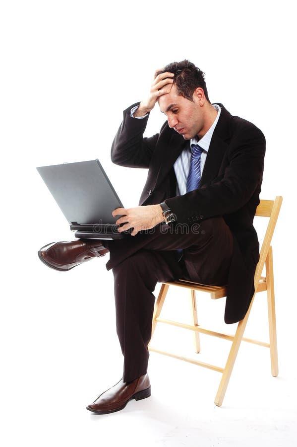 Bedrijfs mislukking stock foto