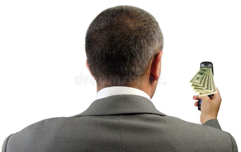 Bedrijfs moderne technologiesamenvatting royalty-vrije stock afbeelding
