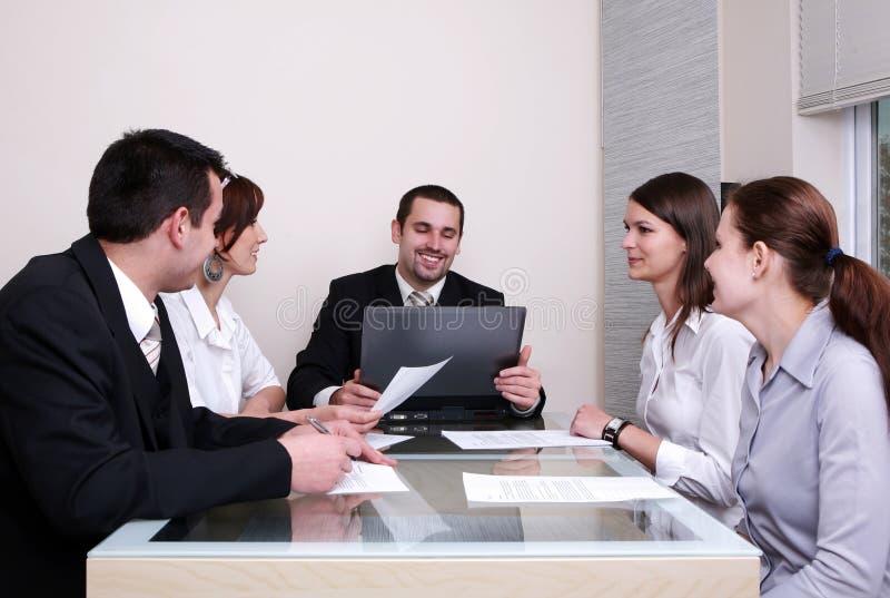 Bedrijfs Onderhandelingen stock foto's