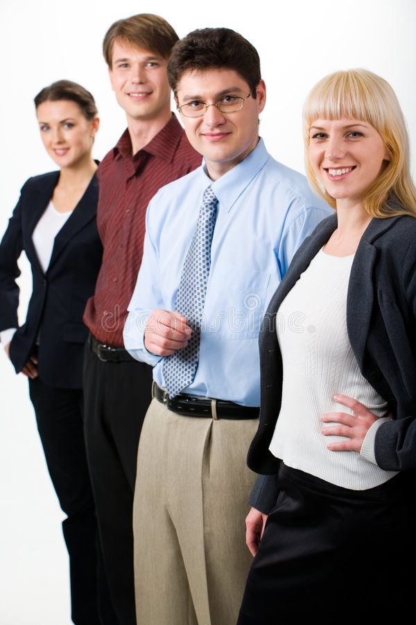Bedrijfs ondernemers stock afbeelding