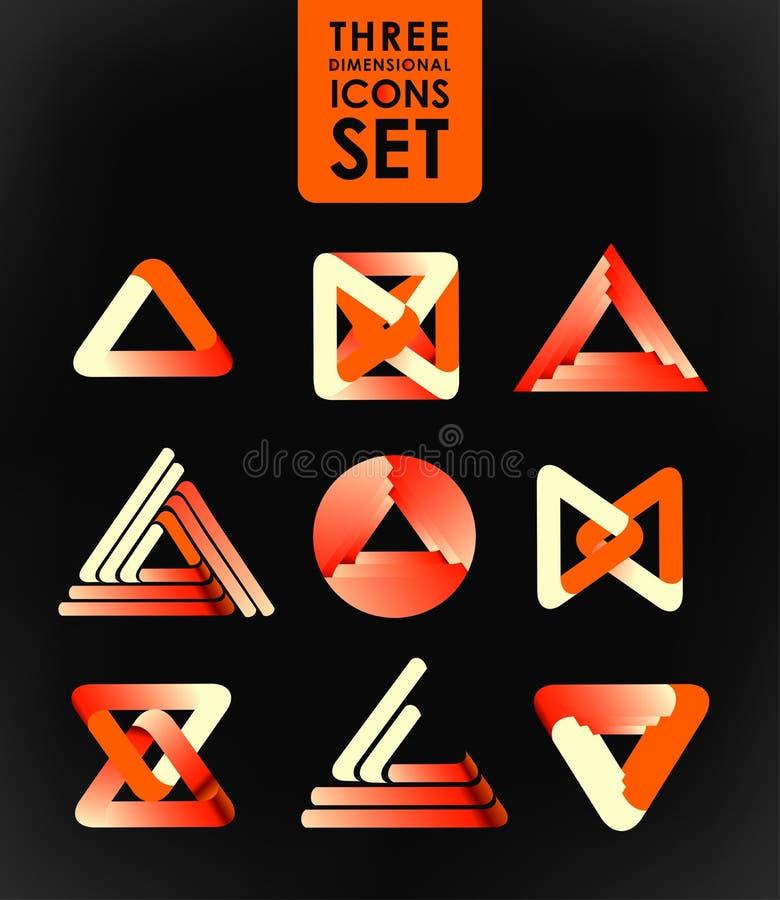 Bedrijfs ontwerpelementen vector illustratie