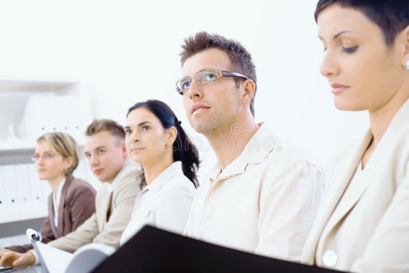 Bedrijfs opleiding royalty-vrije stock foto