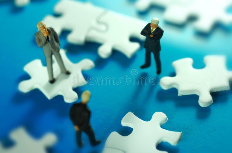Bedrijfs Oplossingen stock foto