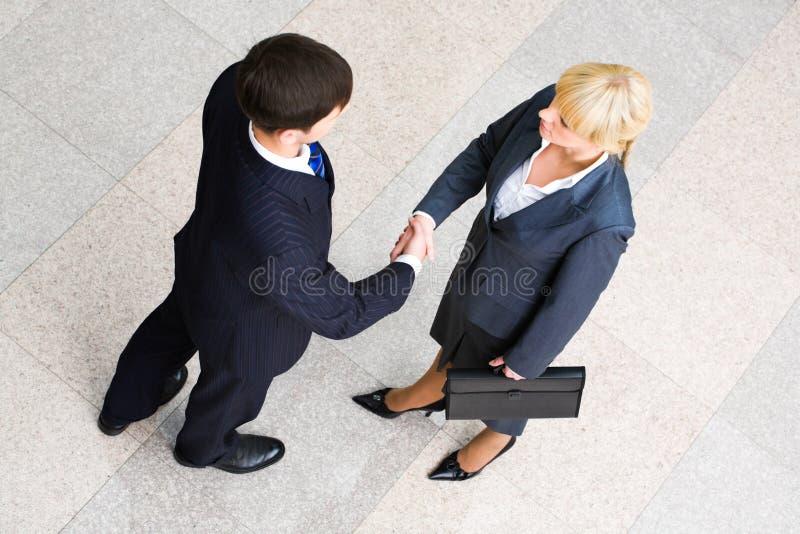 Bedrijfs overeenkomst stock afbeeldingen
