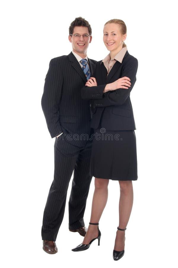 Bedrijfs paar stock foto's