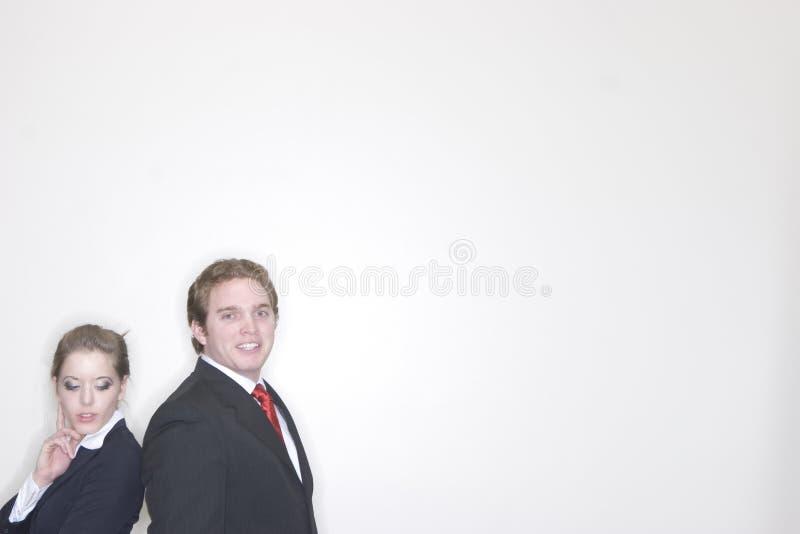 Bedrijfs Paar royalty-vrije stock foto's