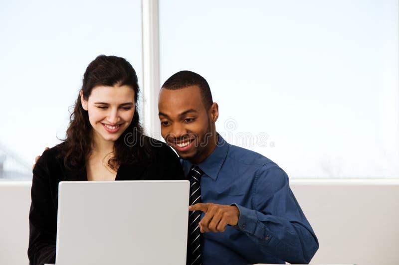 Bedrijfspaar stock afbeelding
