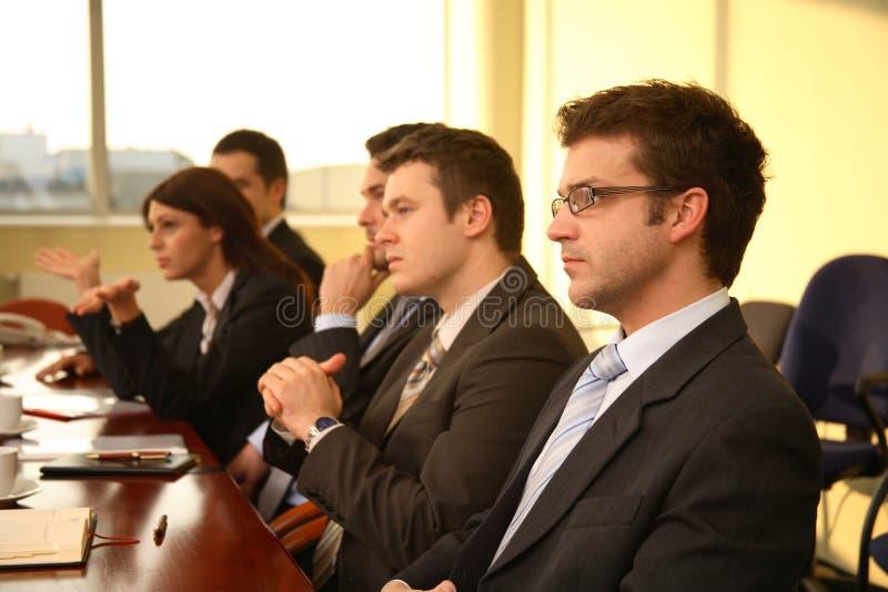 bedrijfs personen op Conferentie royalty-vrije stock afbeeldingen