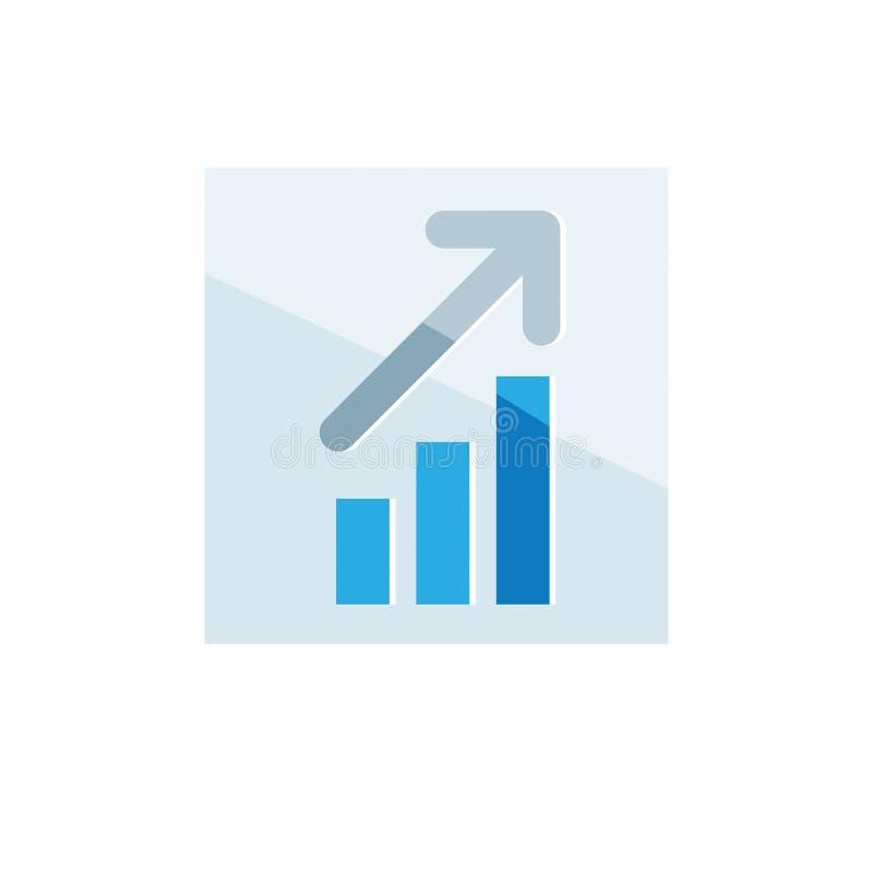 Bedrijfs pictogram Vector illustratie die op witte achtergrond wordt geïsoleerdd vector illustratie