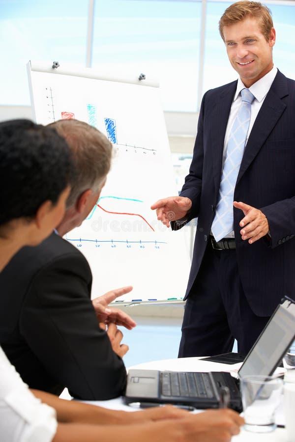 Bedrijfs presentatie stock afbeelding