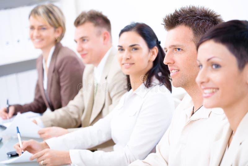 Bedrijfs presentatie. royalty-vrije stock afbeelding