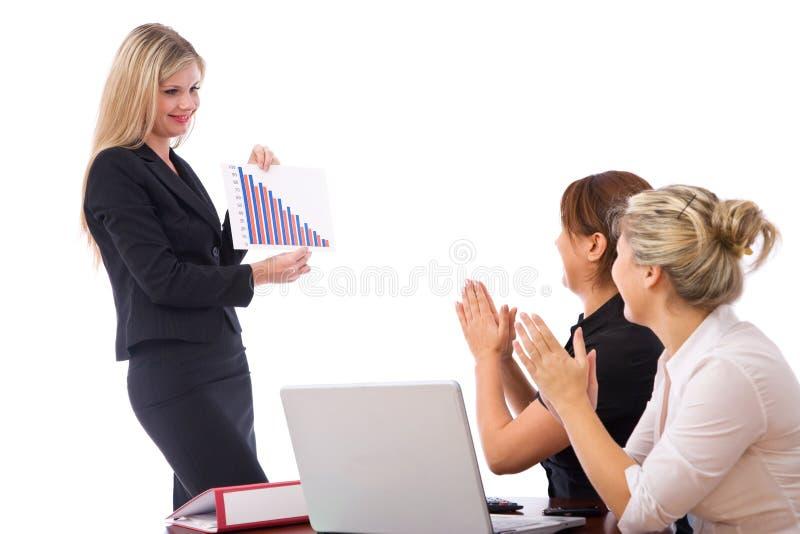 Bedrijfs presentatie royalty-vrije stock foto's