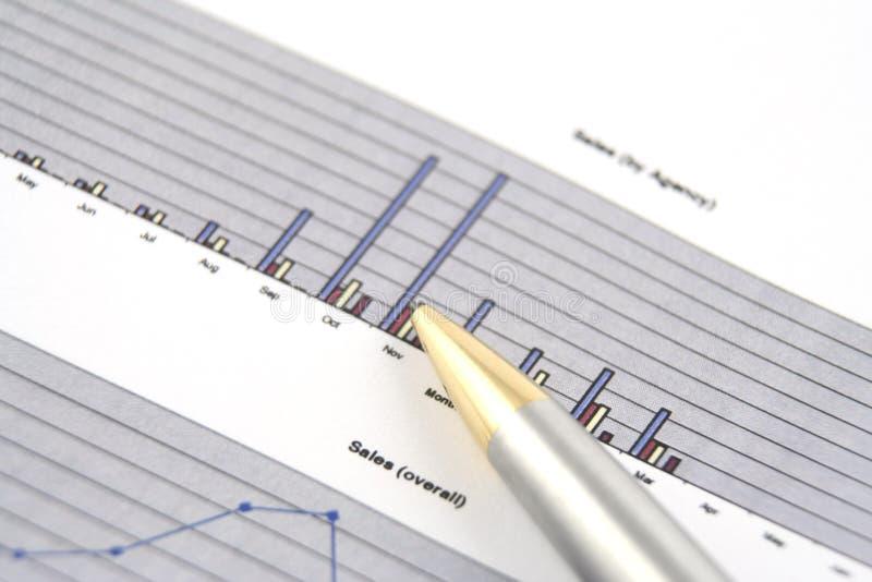 Bedrijfs Rapport royalty-vrije stock foto