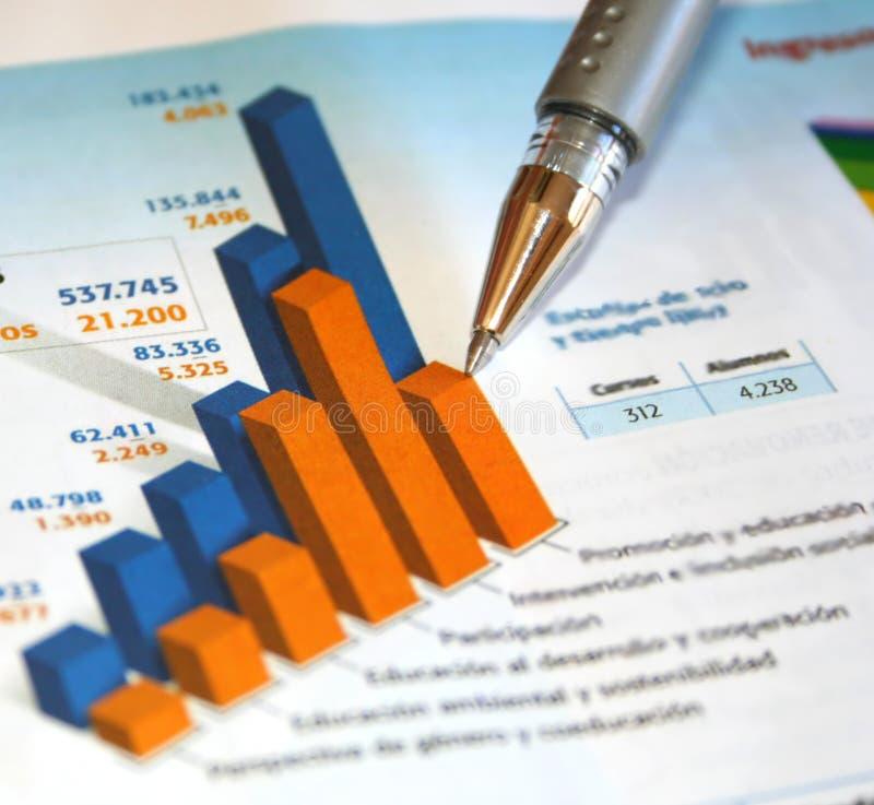 Bedrijfs rapport royalty-vrije stock afbeelding