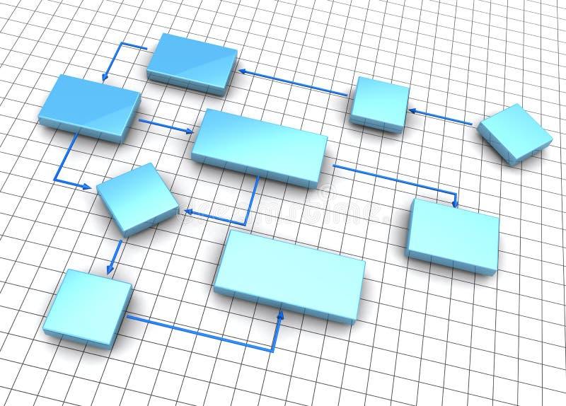 Bedrijfs regeling vector illustratie
