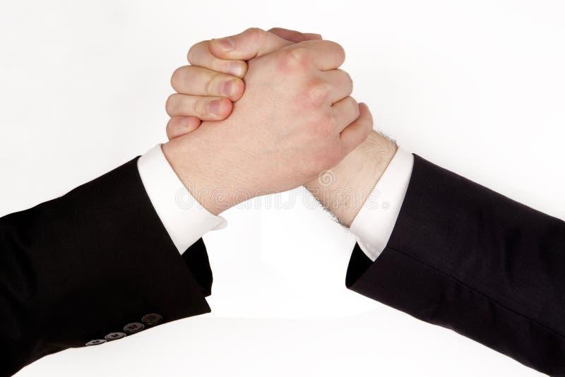 Bedrijfs rivaliteit royalty-vrije stock afbeeldingen