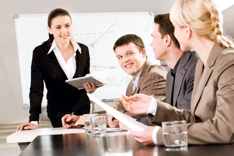 Bedrijfs seminarie royalty-vrije stock foto