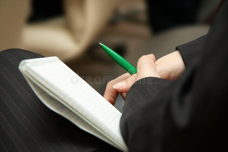 Bedrijfs seminarie stock afbeelding