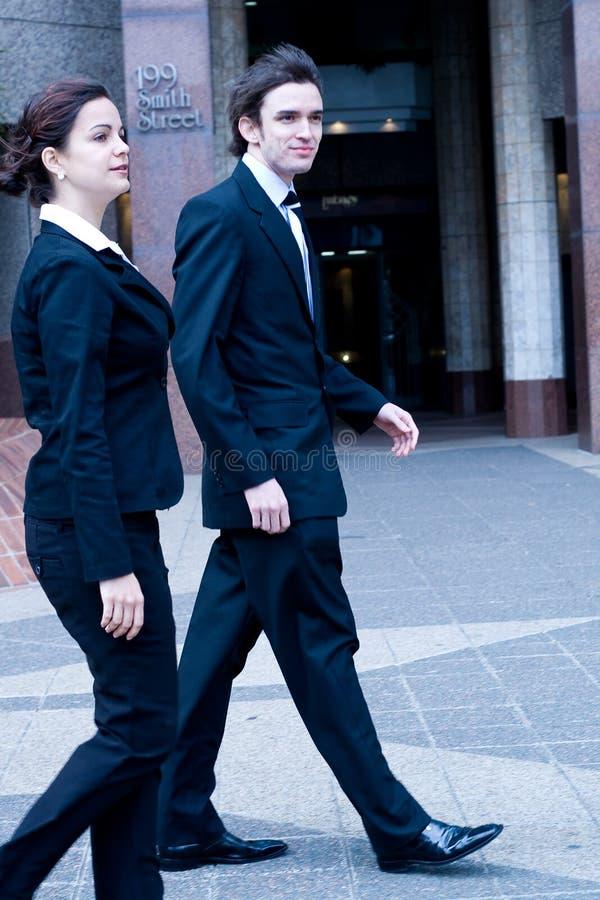 Bedrijfs spitsuur royalty-vrije stock afbeelding