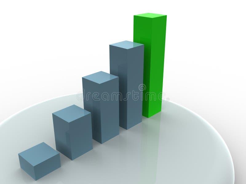 Bedrijfs statistieken vector illustratie