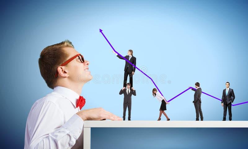 Bedrijfs structuur royalty-vrije stock afbeelding