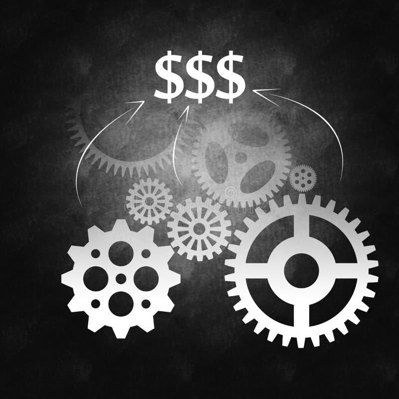 Download Bedrijfs Succes En Het Beheersproces Stock Illustratie - Illustratie bestaande uit vennootschap, bureau: 29513767