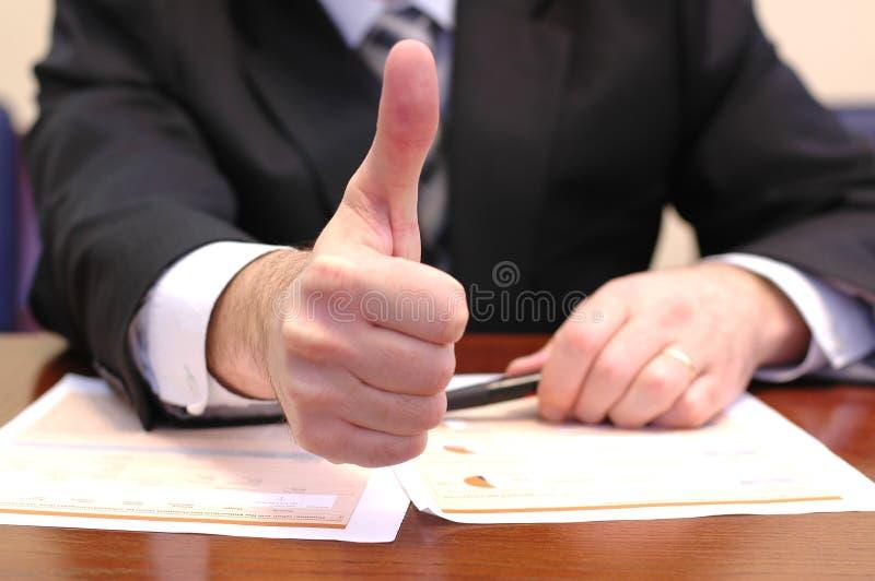 Bedrijfs succesmetaforen stock foto's