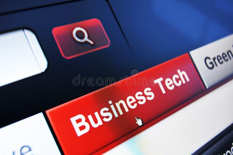 Bedrijfs technologie stock afbeelding