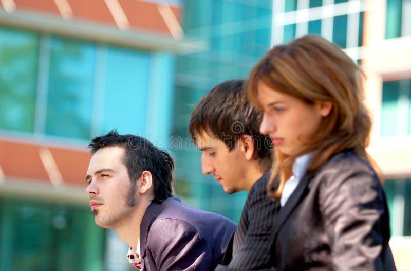 Bedrijfs Trio 2 royalty-vrije stock afbeeldingen