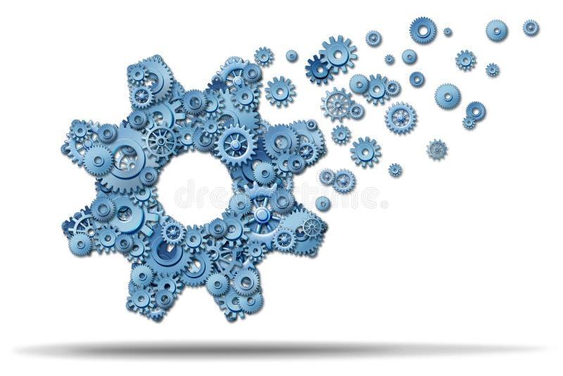 Bedrijfs Uitbreiding vector illustratie