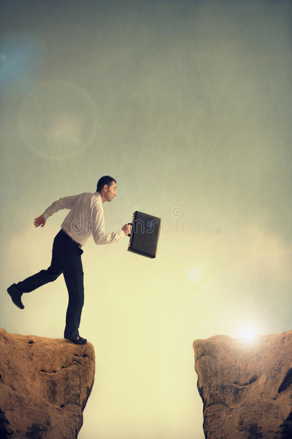 Bedrijfs uitdaging stock fotografie