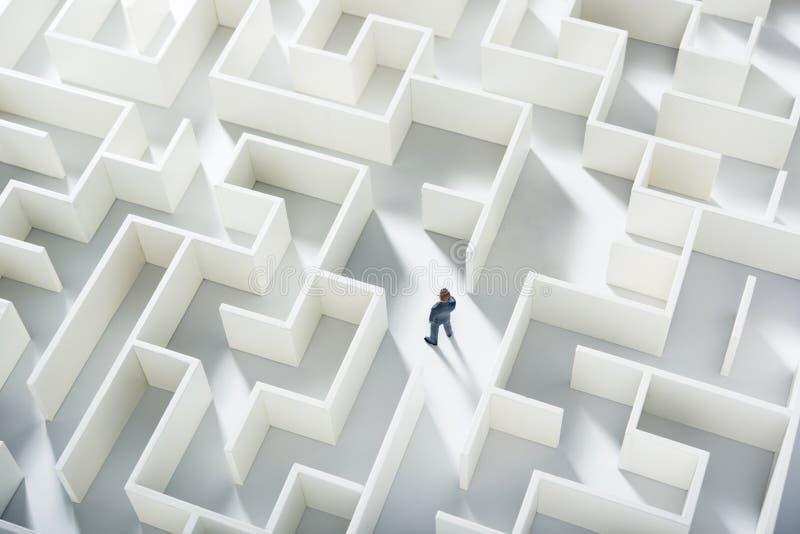 Bedrijfs uitdaging stock afbeeldingen