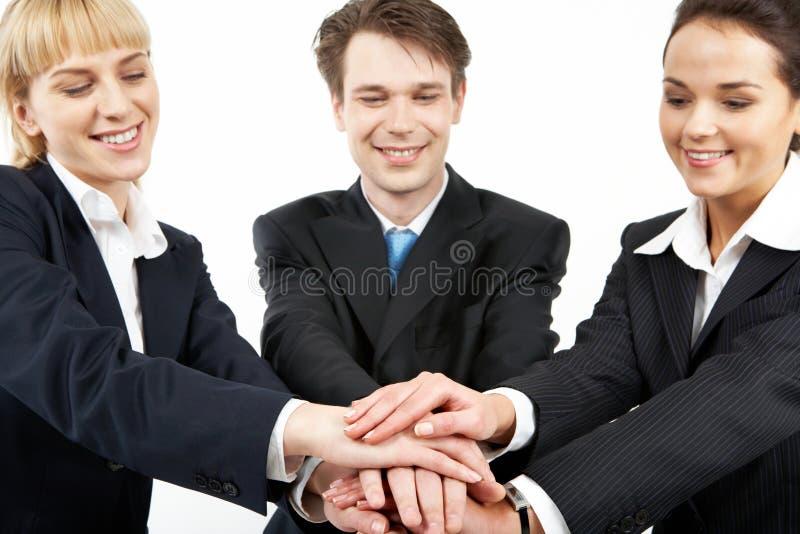 Bedrijfs unie stock afbeeldingen