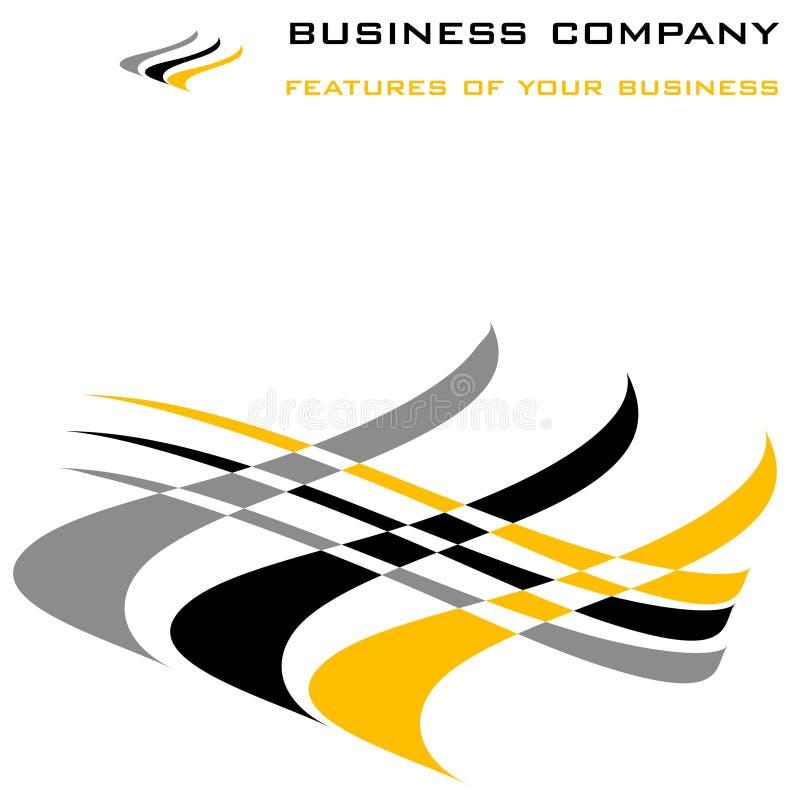 Bedrijfs vector stock illustratie