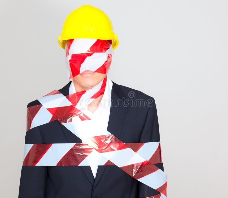 Bedrijfs veilige reorganisatie stock afbeelding