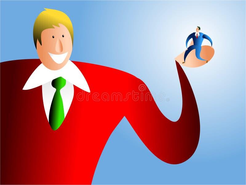 Bedrijfs veiligheid royalty-vrije illustratie